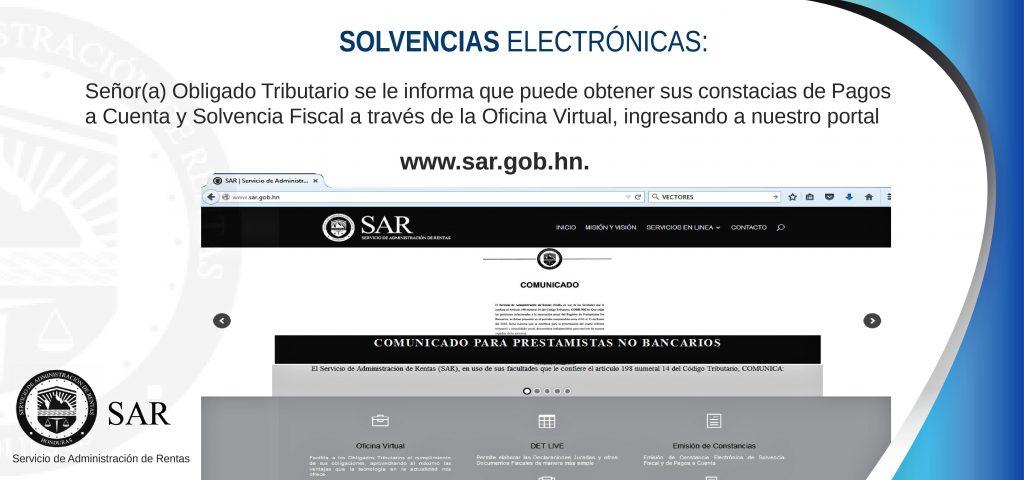SOLVENCIAS ELECTRONICAS SAR