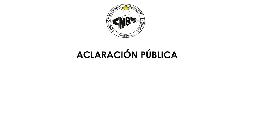 Aclaración Pública