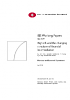 2. Bigtech and the changing structure of financial intermediation (Paper)