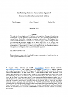 3. Can technology undermine macroprudential regulation (Paper)