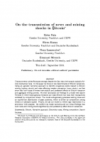 4. On the transmission of newa and mining shock in Bitcoin (Paper)