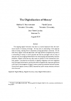 6. The digitalization of money (Paper)